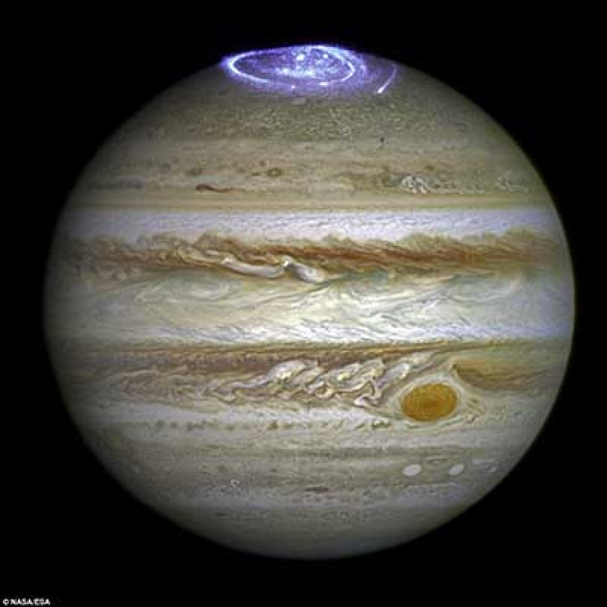 'Jupiter's North Pole unlike  anything in solar system'