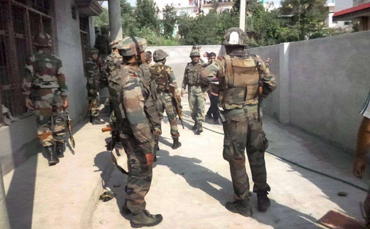 Three Jaish-e-Mohmmad arrested terrorists sent for intense interrogation