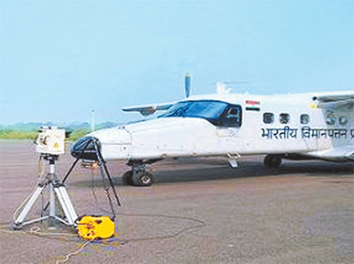 Spl aircraft to conduct  calibration of ILS