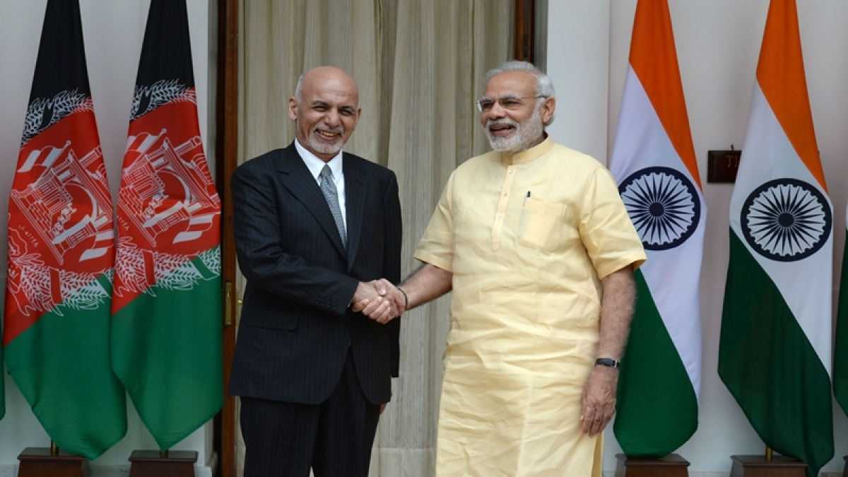 Modi, Ghani meet, demand end to state-sponsored terrorism