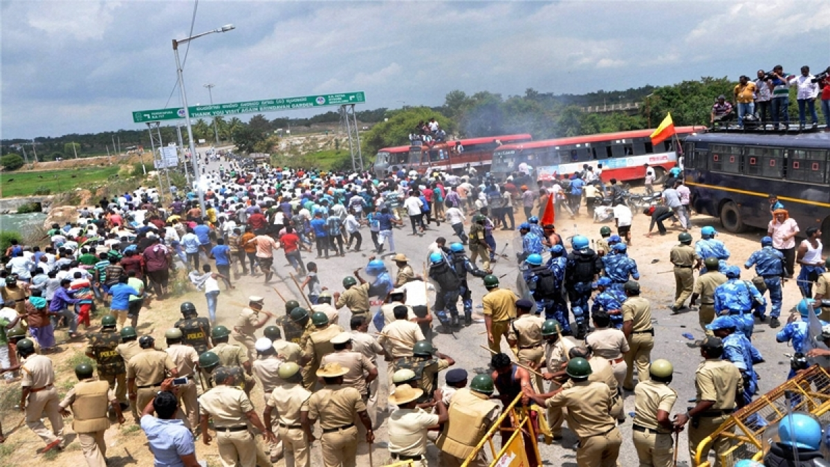 Cauvery protest: Section 144 imposed in Bengaluru, K'taka Govt. appeals for peace