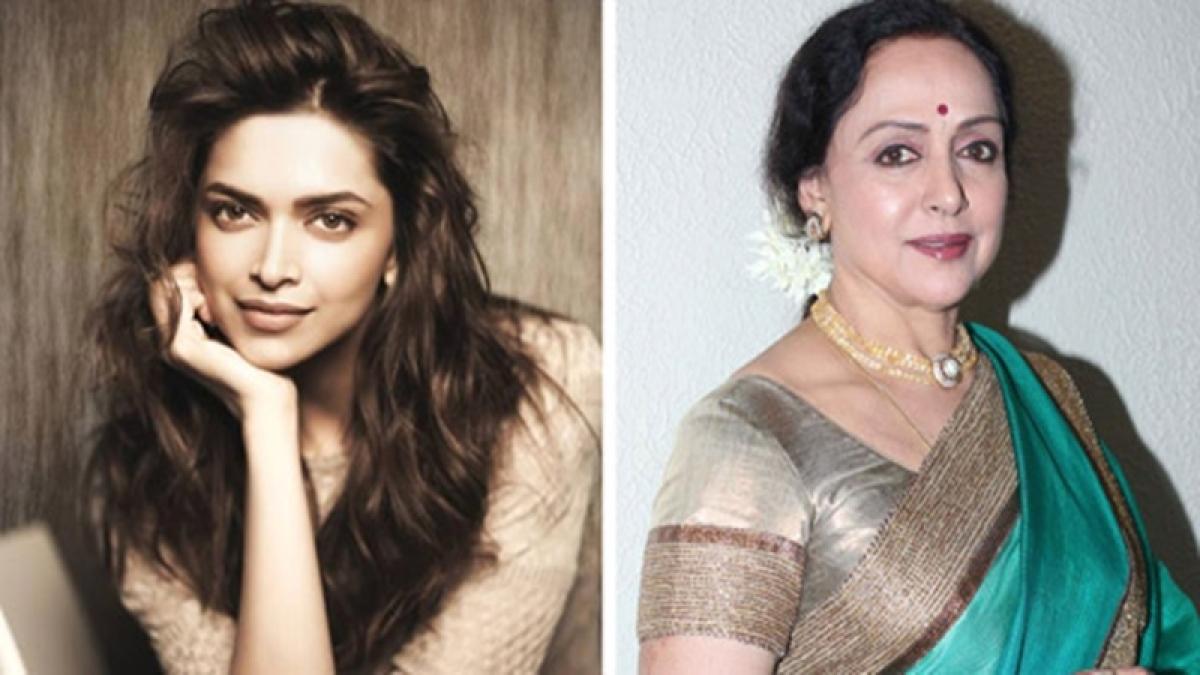 Deepika Padukone responds to veteran actress Hema Malini's praises