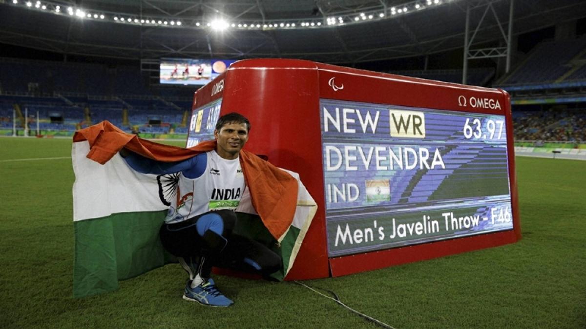Devendra Jhajharia a true testament of `grit and will power`, says Sachin Tendulkar