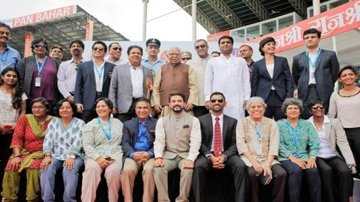 Former India captains felicitated ahead of historic 500th Test