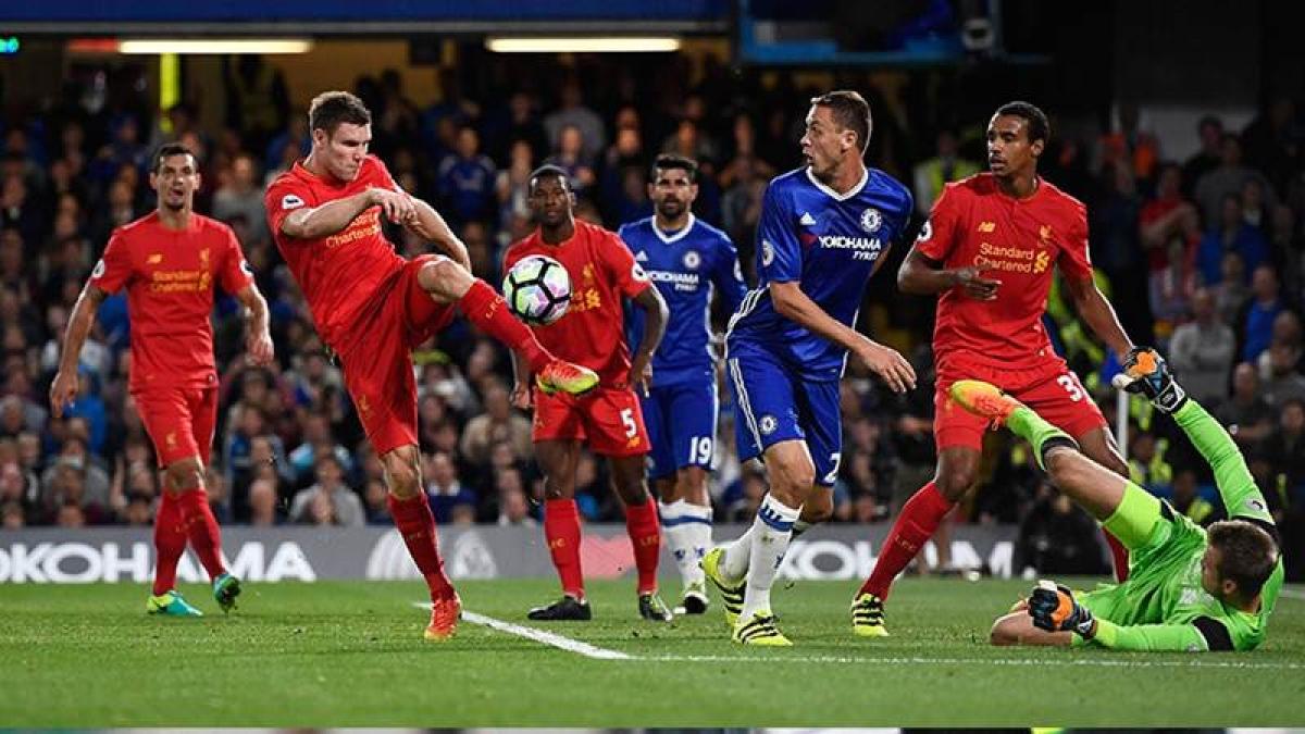 Liverpool beat Chelsea 2-1 in Permier League