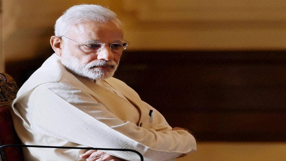 PM Modi arrives in Kozhikode for BJP meet