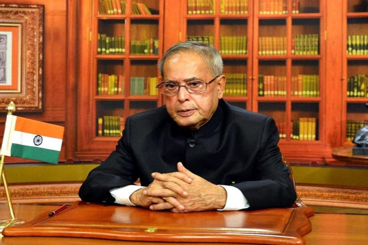 Indian economy needs a strong push: President