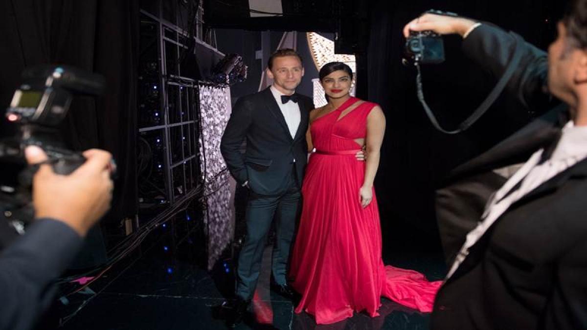 Priyanka Chopra, Tom Hiddleston get flirty at Emmys after-party