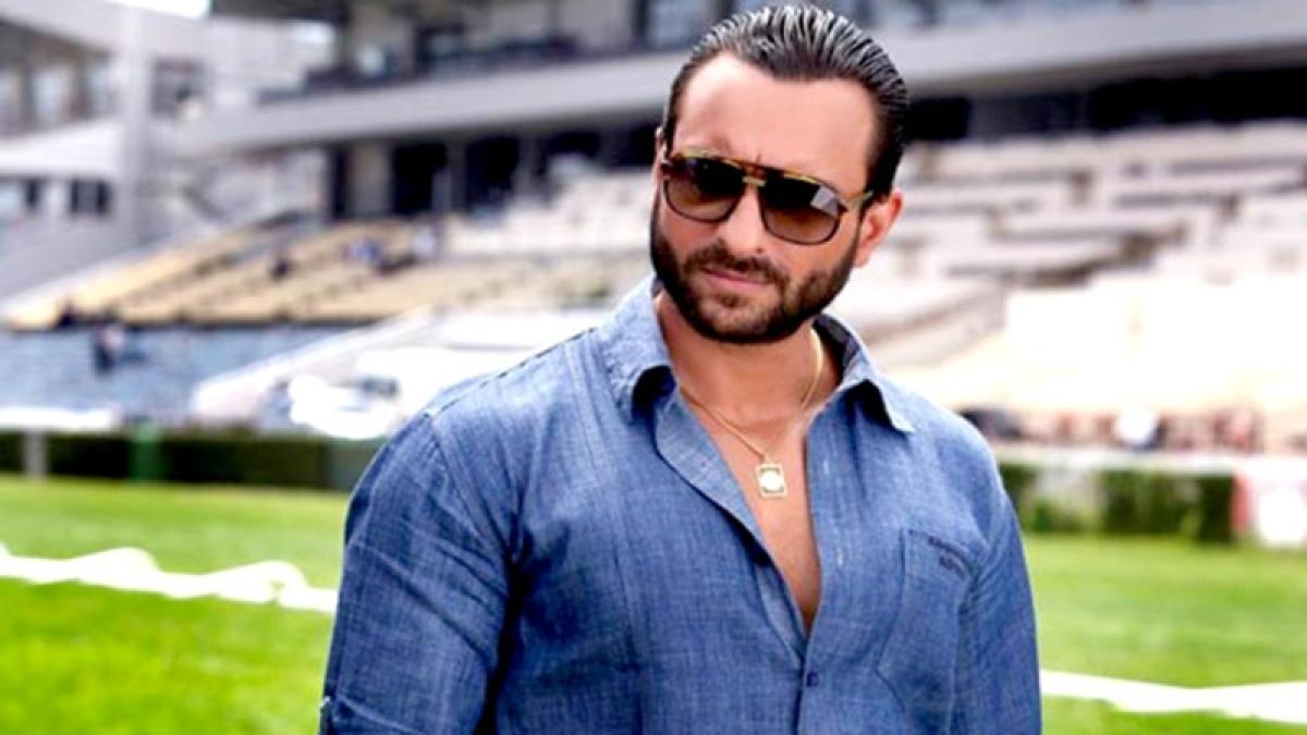 Actor Saif Ali Khan set to turn rapper for 'Baazaar'