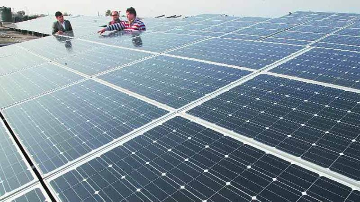Adani unveils world's largest solar power plant in Tamil Nadu