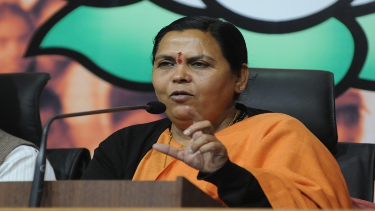Uma Bharti baulks at Kanda's proposal, says people with BJP 'must be clean'