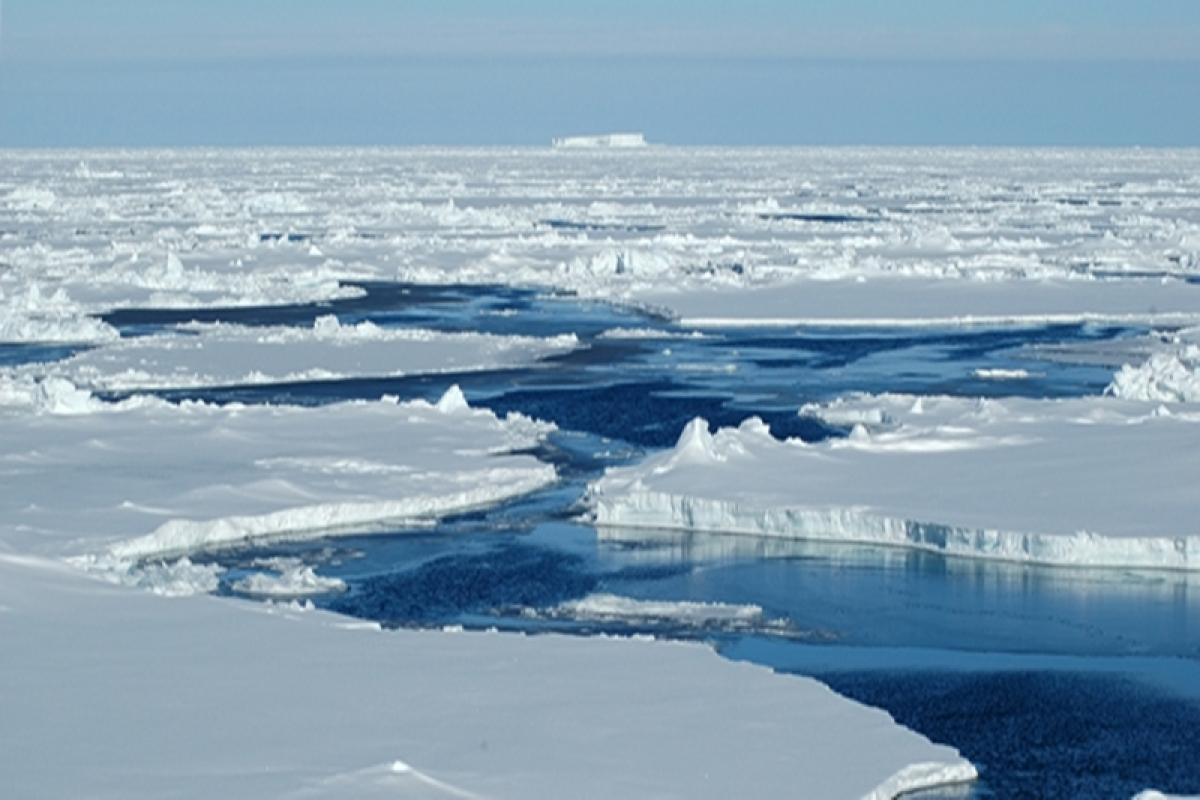 Surface melting causes Antarctic glaciers to slip faster towards the ocean