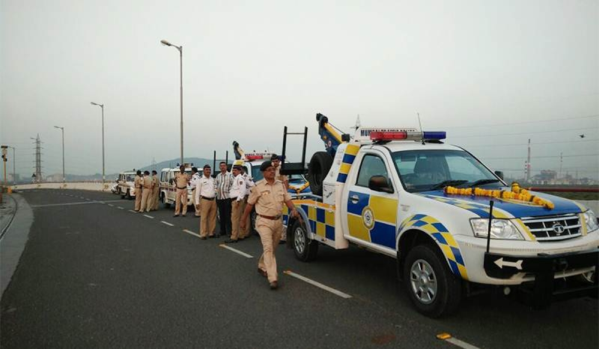 Mumbai Cops equipped well to smoothen Freeway traffic