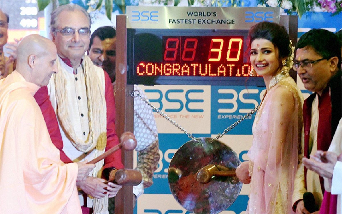 BSE Sensex off to flying start in Muhurat trading; climbs 154 pts