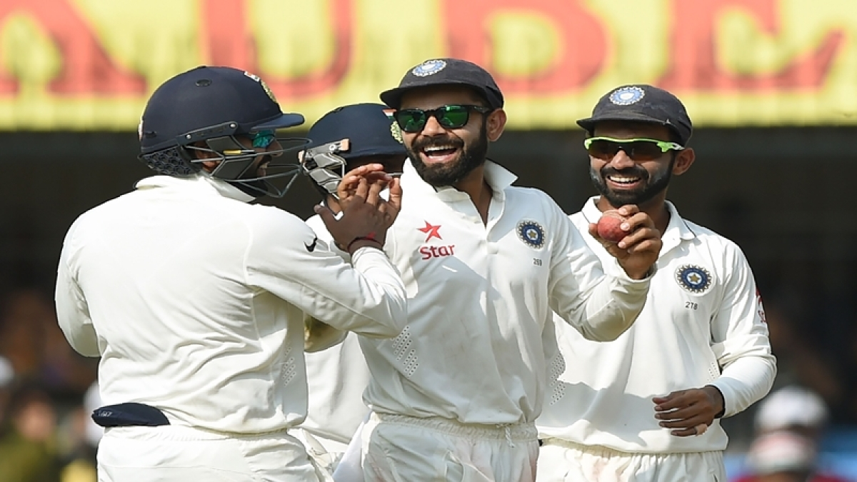 India lead Kiwi by 276 runs on the third day