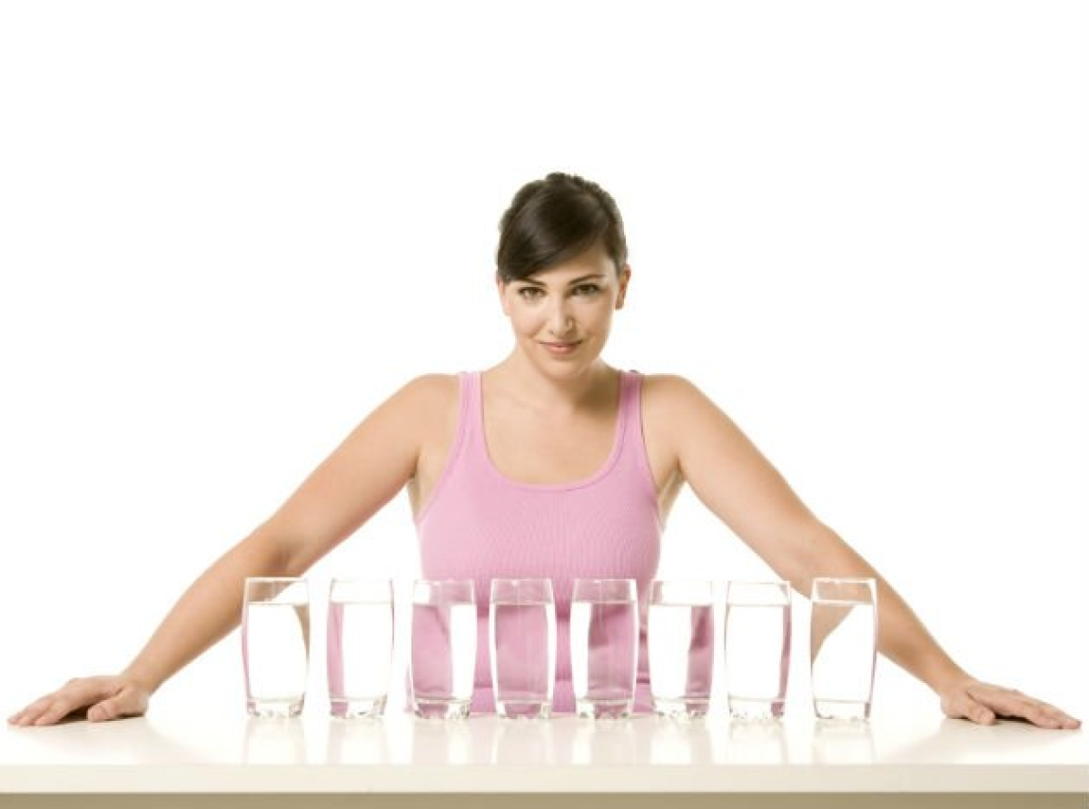 Can drinking eight glasses of water a day harm you?