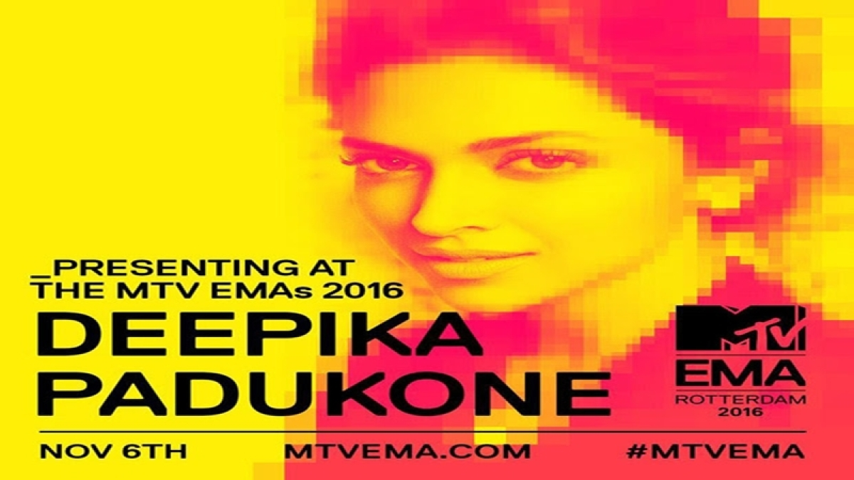Deepika Padukone to be a presenter at MTV Europe Music Awards 2016