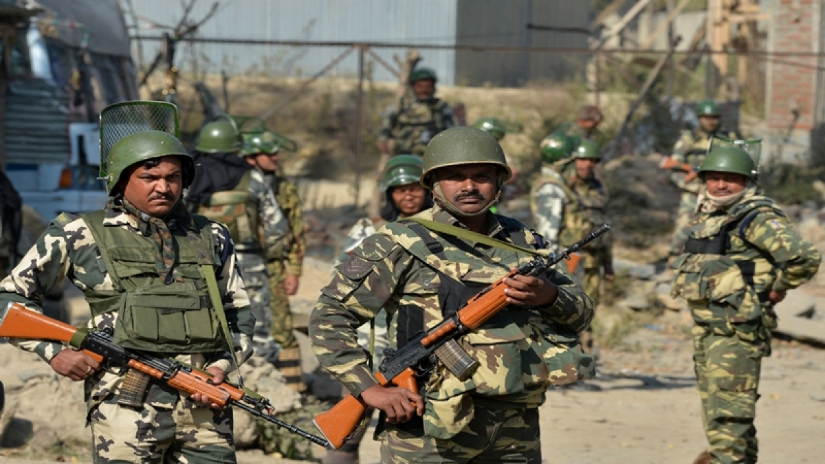 9 injured after militants attack security forces with grenade