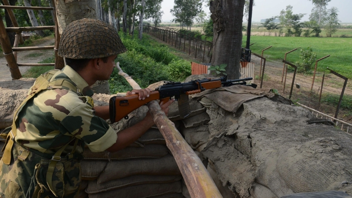 BSF detects underground tunnel along international border in Jammu and Kashmir's Kathua district