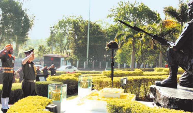 Infantry Day celebrated at Infantry School Mhow