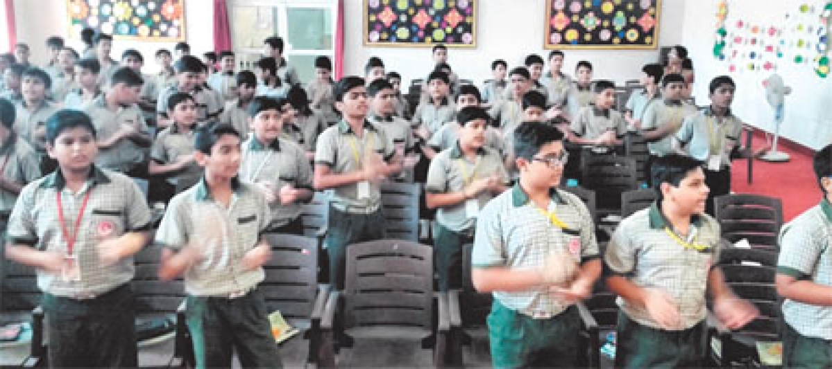 'Kids should strive for excellence' in Bhopal