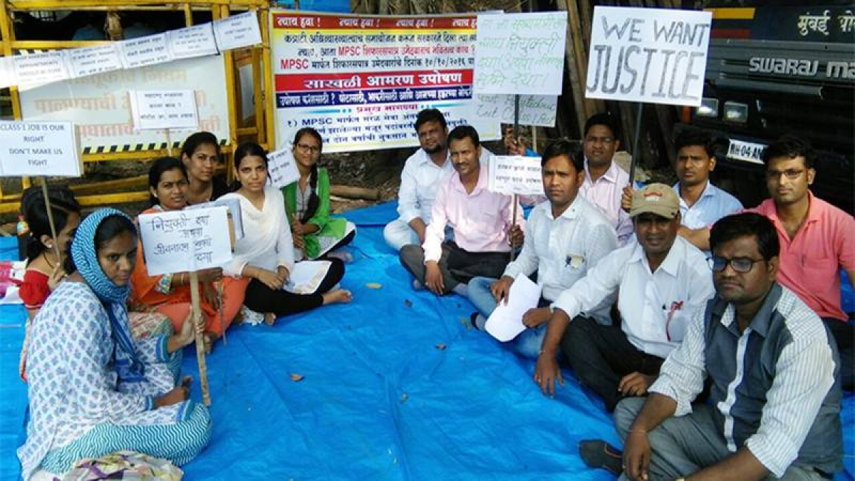 No appointment for 2 years, MPSC candidates go on hunger strike