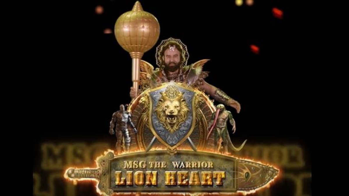 MSG The Warrior Lion Heart: Hammering it in all the way through!