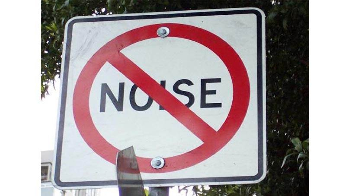 Health experts are the new victims of noise pollution