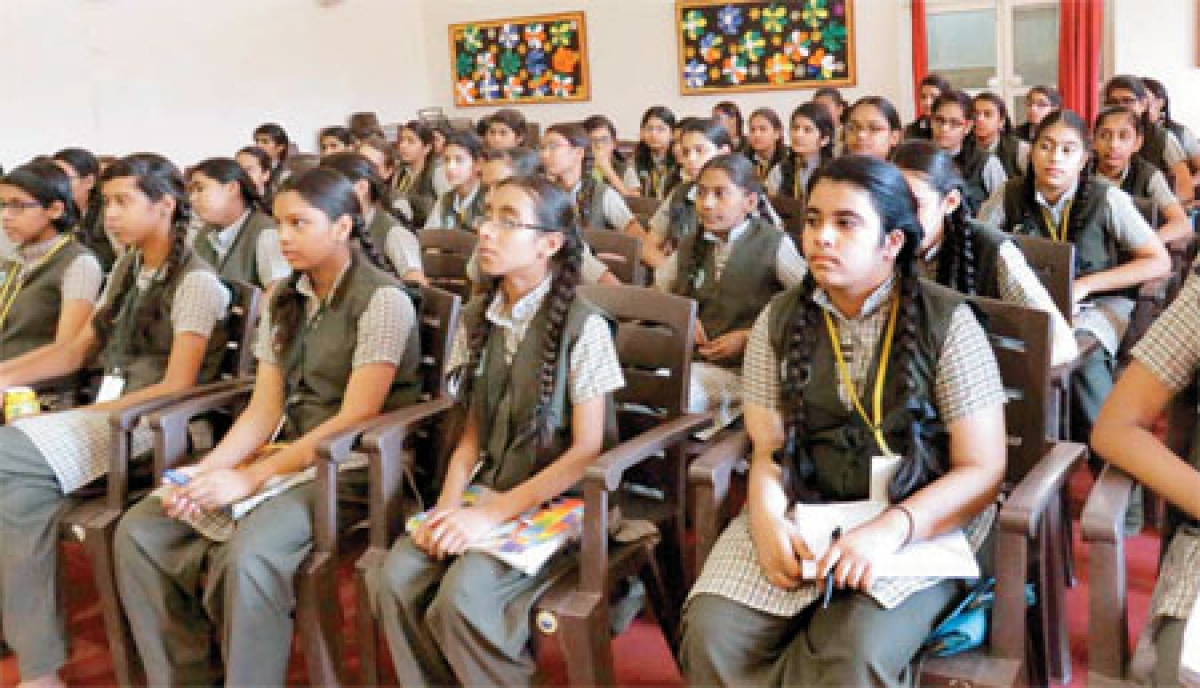 BSSS girls told about self-defence