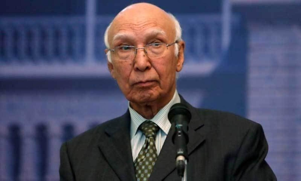 Pakistan is major victim of terrorism, says Sartaj Aziz