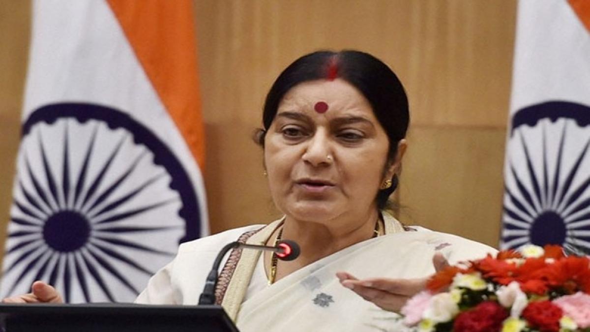 Sushma Swaraj's warning to Amazon apt
