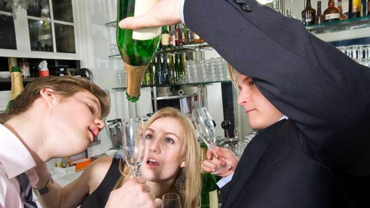 How young adults decide when they are drunk enough