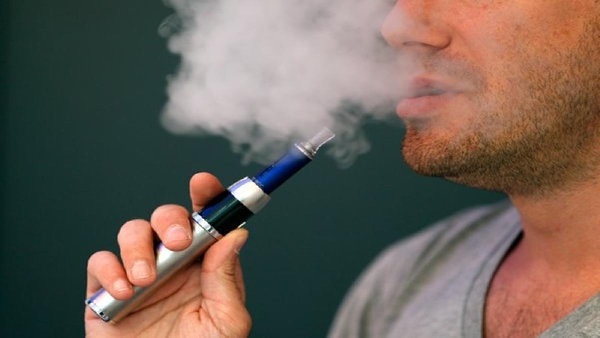 Toxicant level in e-cig emissions 95 percent less than regular cigarette smoke