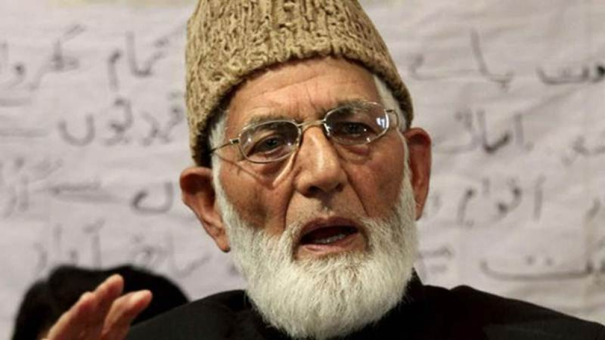 Syed Ali Shah Geelani wants release of arrested Kashmiris