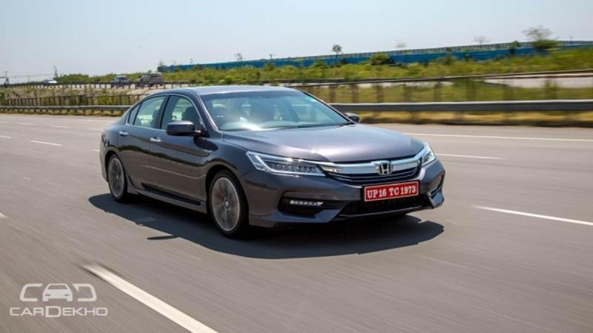 Honda Accord hybrid launched At Rs 37 Lakh