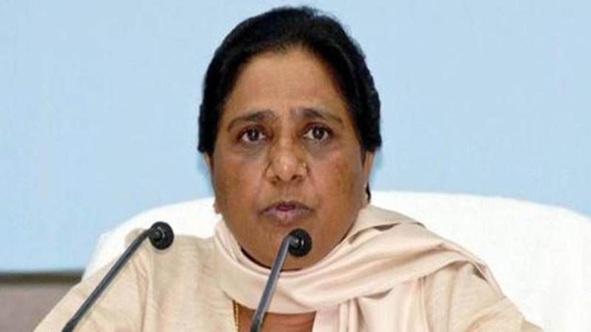 Mayawati accuse BJP for trying to convert India into a Hindu Rashtra
