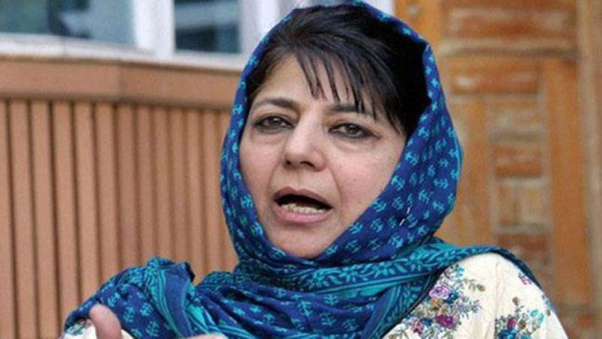 No compensation provided to Burhan's family: Mehbooba