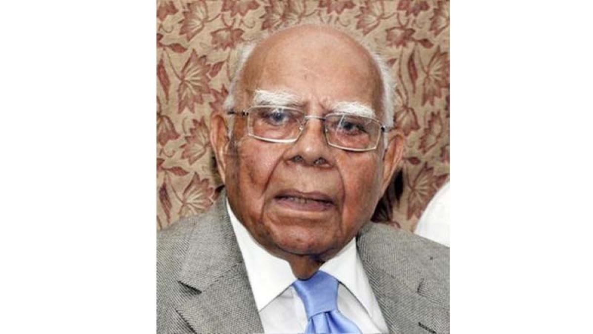 Judiciary saved democracy in India, says Jethmalani