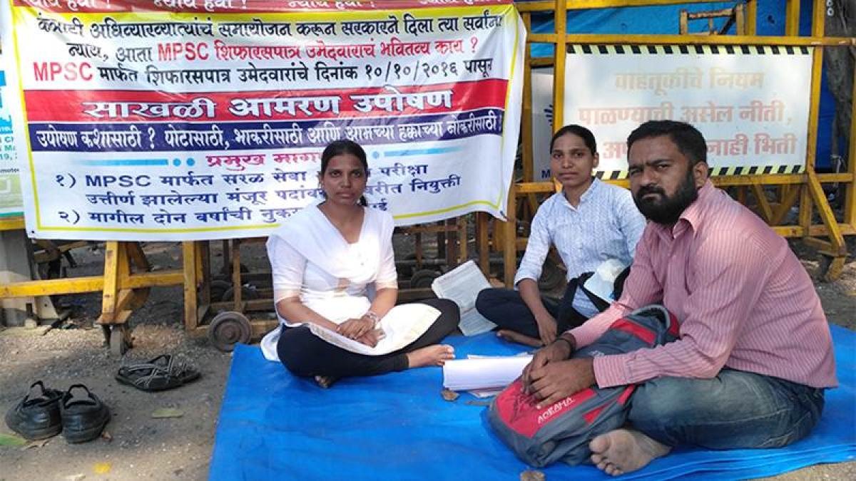 Mumbai: MPSC candidate on indefinite hunger strike refuses to budge
