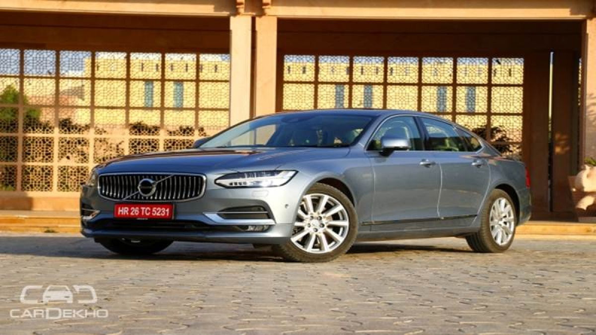 Volvo S90 India launch on November 4