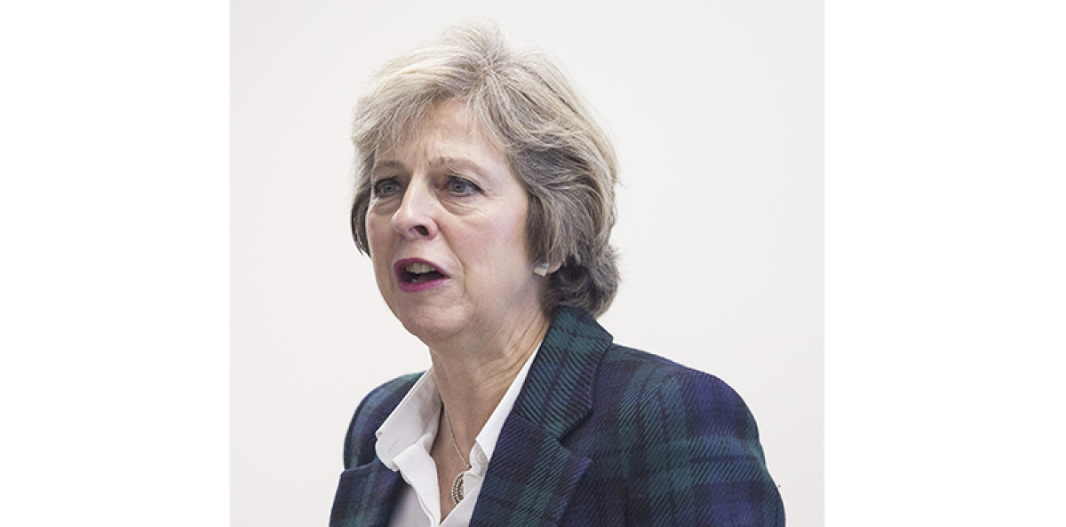 Theresa May officially resigns as head of Conservative Party