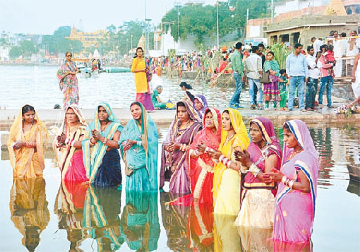 Chhath Puja: Seeking blessings of Sun, nature for healthy living
