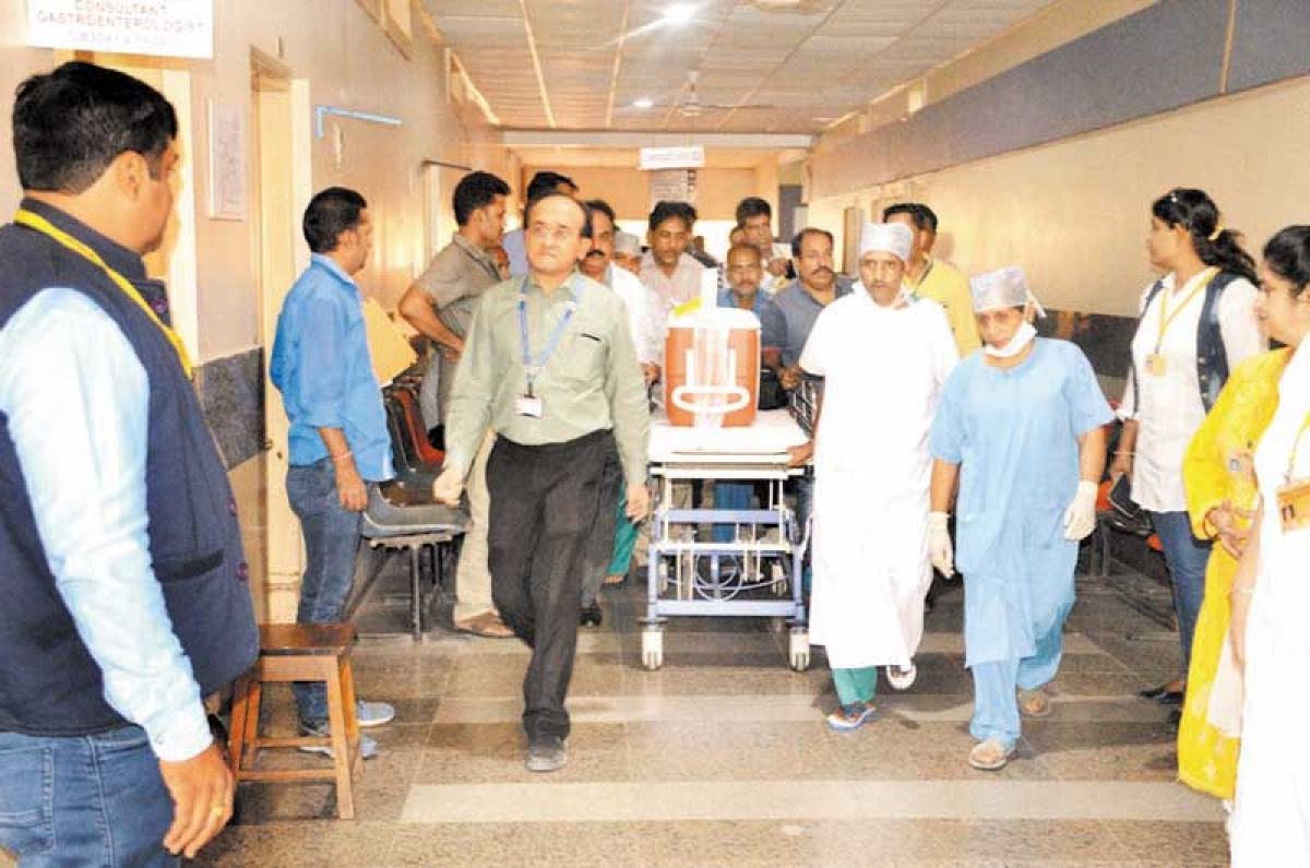 Indore creates record for 11th time in a year – Three Green Corridors created in a day for organ transplant