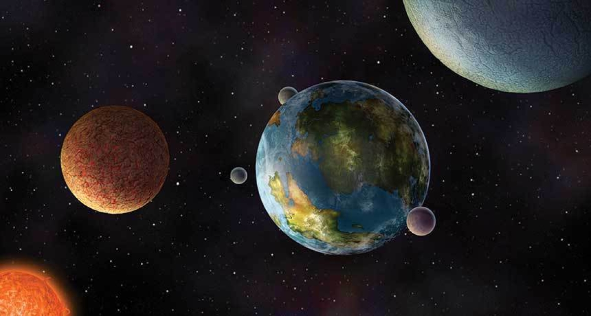 Scientists use Earth as a proxy for detecting signs of life on exoplanets