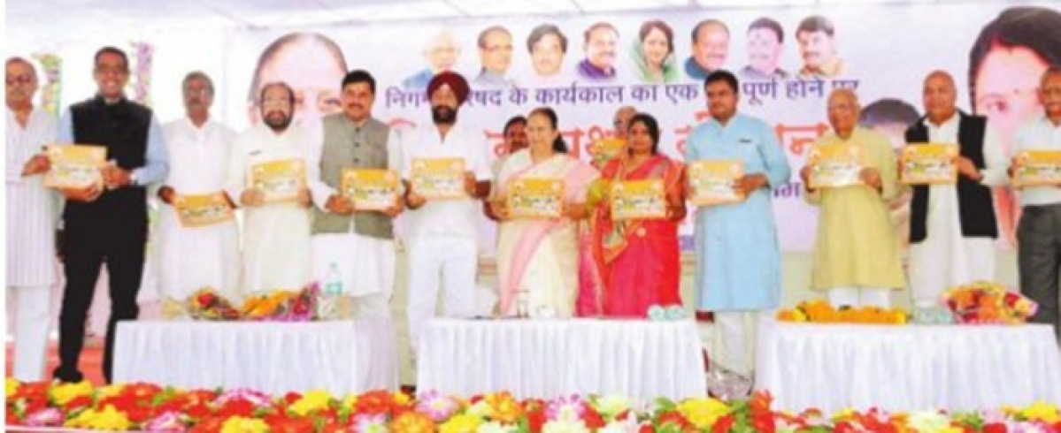 First anniversary of UMC: Chalk out city's dev plan withsustainable approach, says Sumitra Mahajan