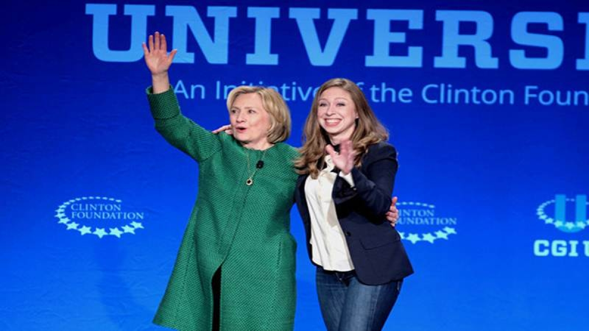 Hillary Clinton's daughter Chelsea being groomed to run for Congress