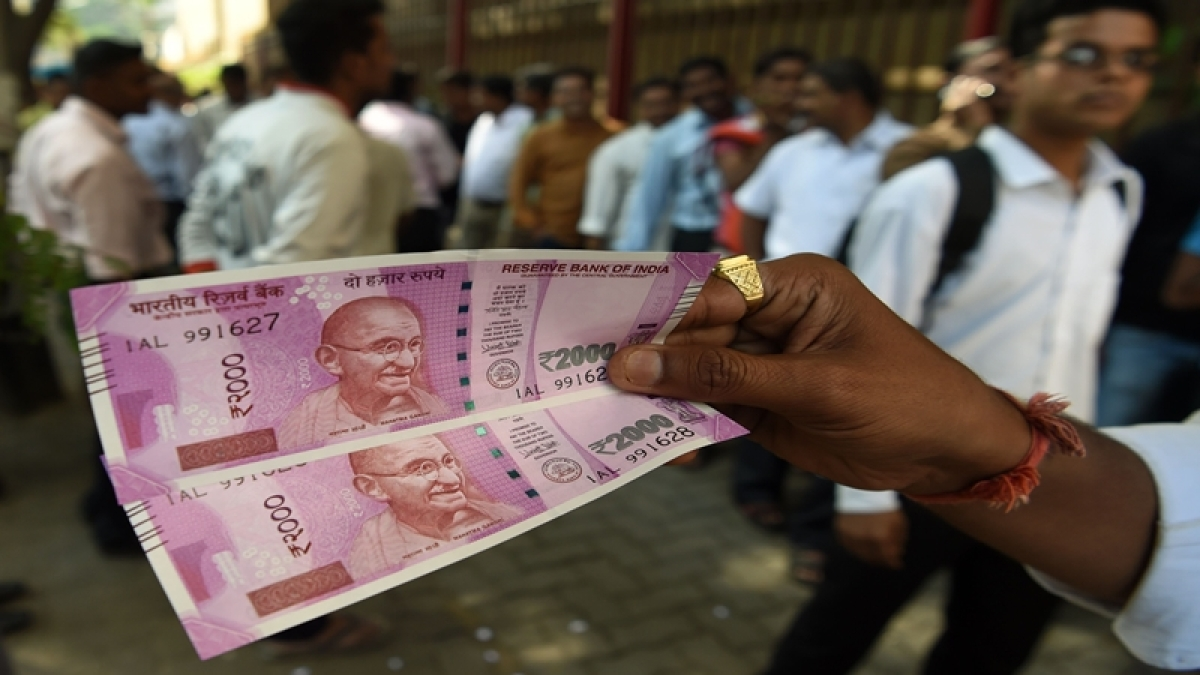 Rupee slips 4 paise to 72.87 against dollar in early trade