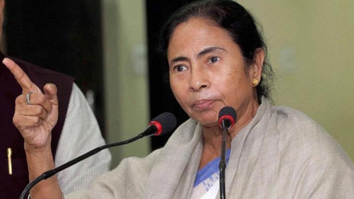 Ban on news channel shows emergency-like situation: Mamata Banerjee
