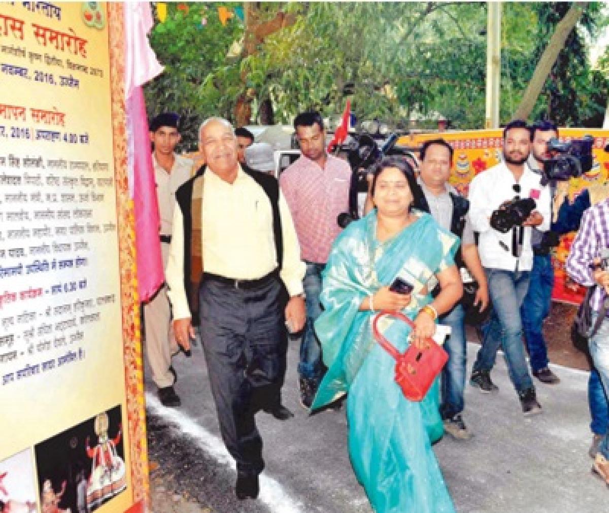 Ujjain: Mayor Meena Jonwal leaves venue after being denied place on dais