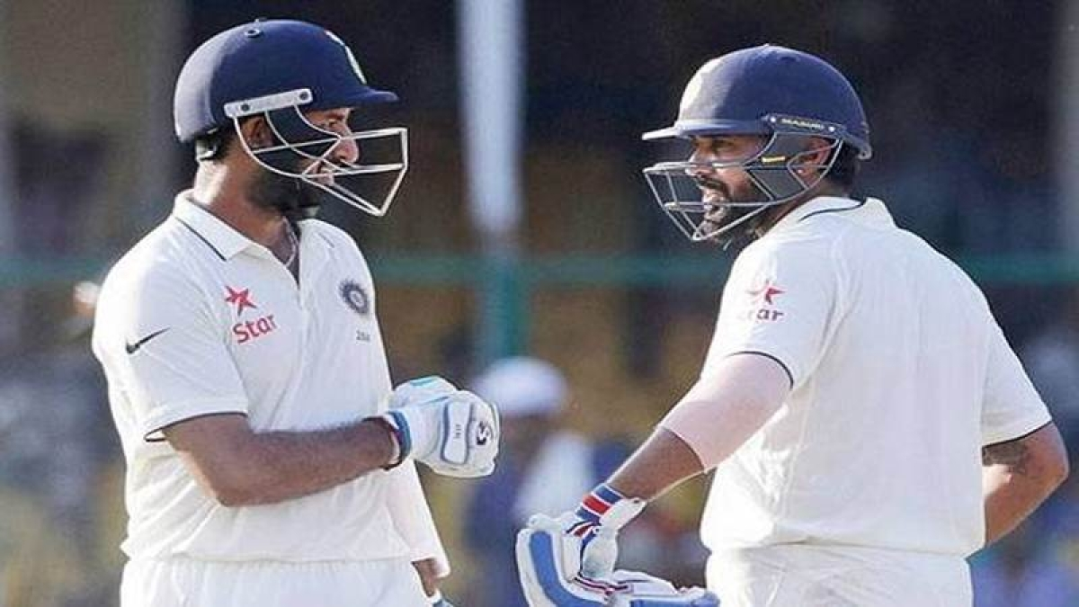 India were 162-1 at lunch against England on day 3